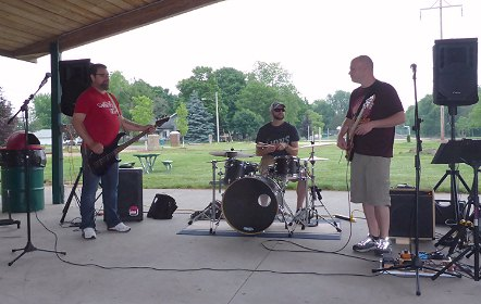 The Back Up Band at Quincy Park 2015
